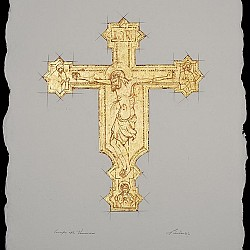 Crucifix after Francesco di Vannuccio (1356 –89)