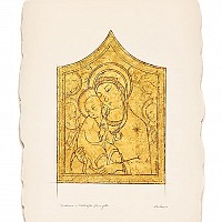 Virgin and Child after Sano di Pietr0